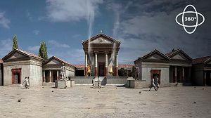 Ingeniería Romana 360º: El templo foro de Ampurias