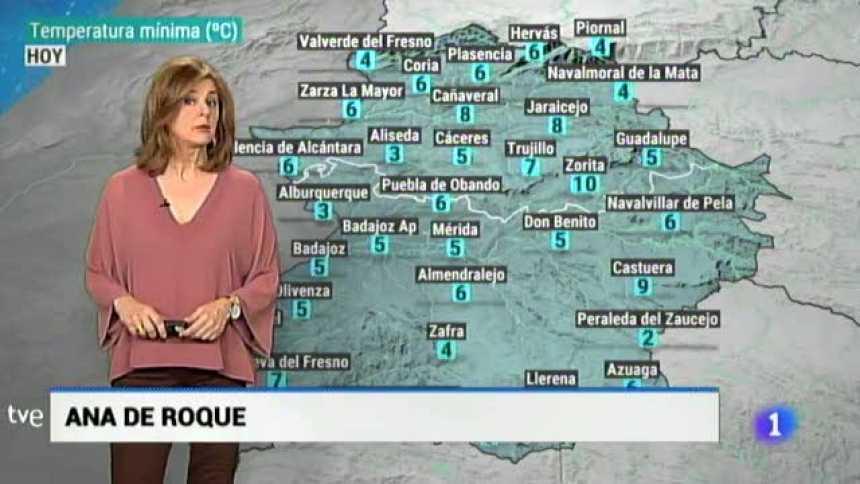 El tiempo en Extremadura - 21/02/19
