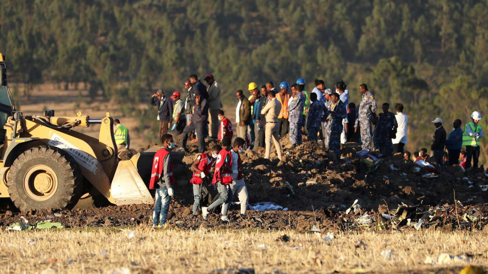 Resultado de imagen de accidente etiopia