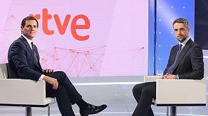 Entrevista íntegra a Albert Rivera en el Telediario