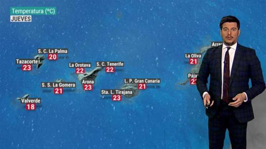 El tiempo en Canarias - 21/03/2019