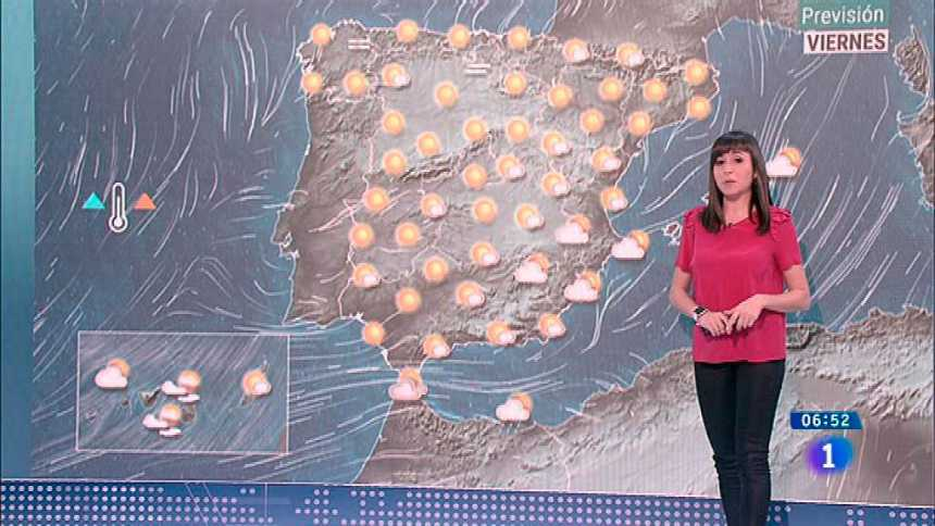 Hoy, temperaturas en ascenso y viento fuerte en Canarias y en el Estrecho