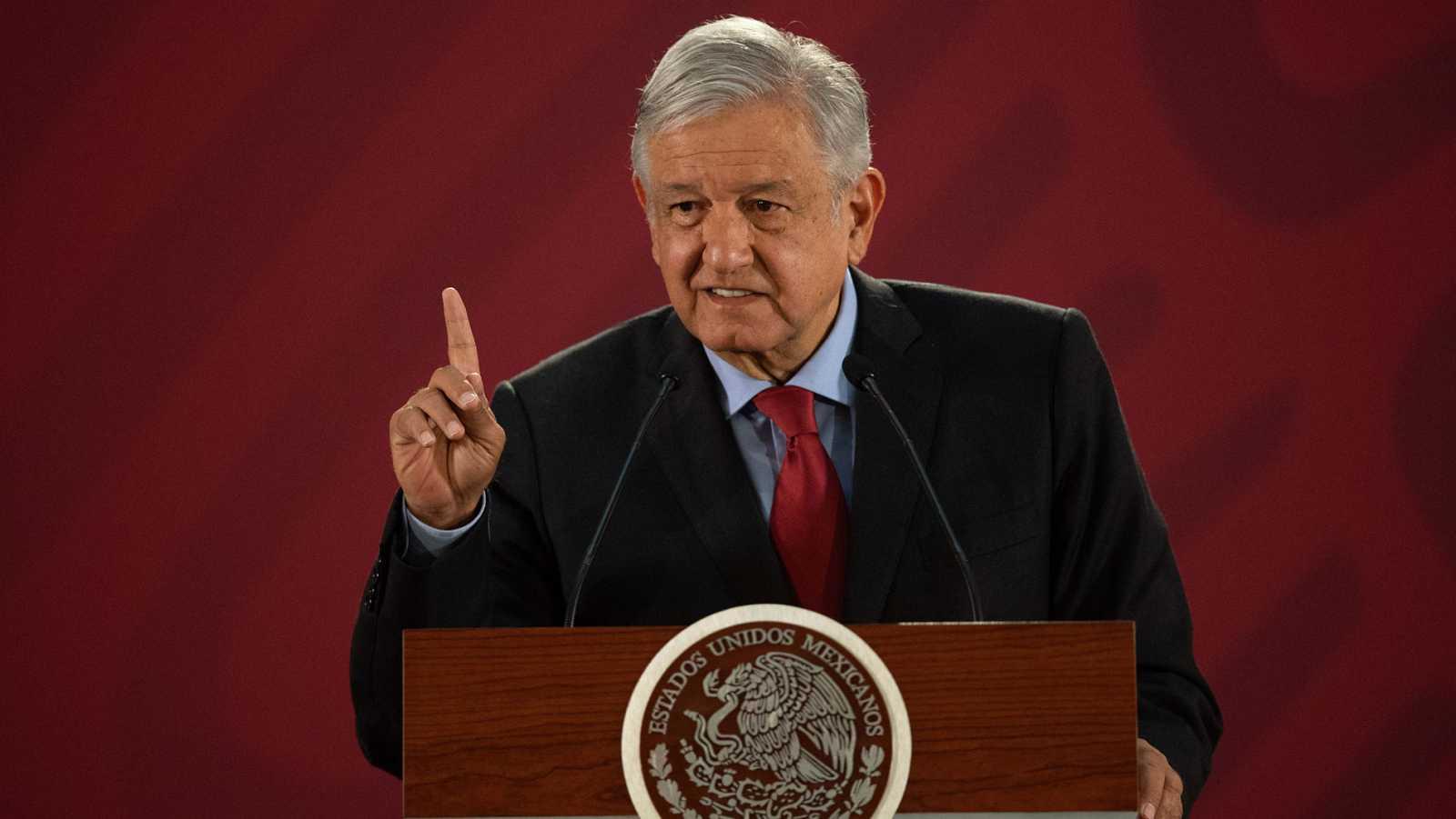 López Obrador insiste en la necesidad de pedir perdón