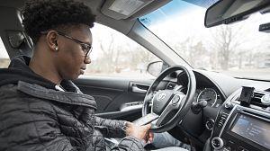 Distraídos al volante - Avance