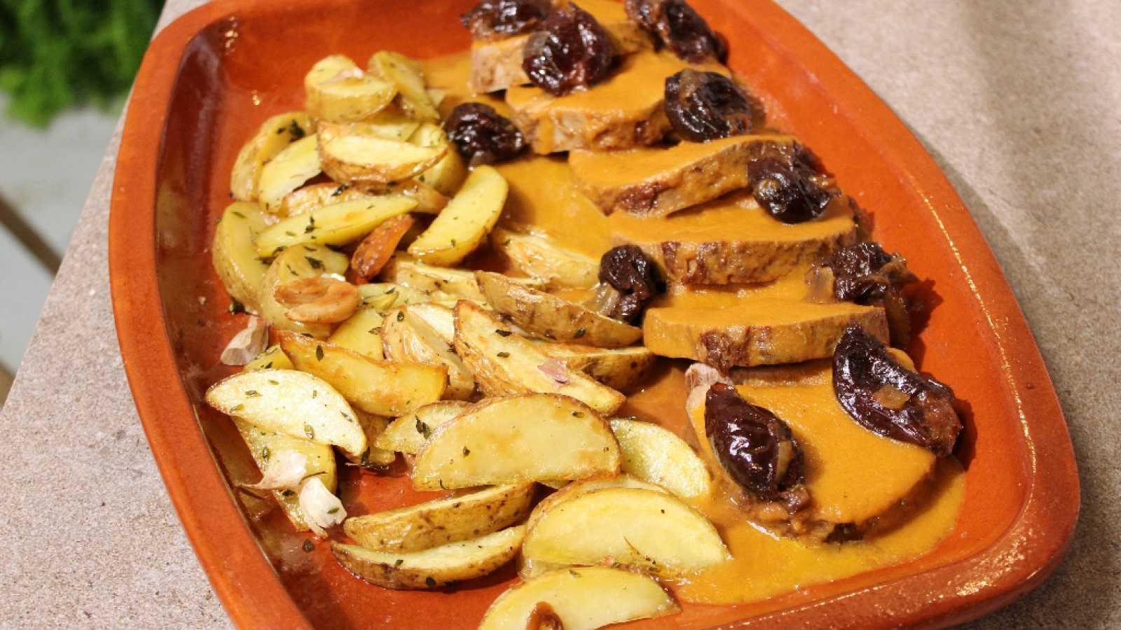 Hacer de comer - Redondo de ternera mechado y lasaña
