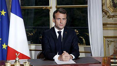 """Macron: """"Tenemos que convertir esta catástrofe en algo que nos una"""""""