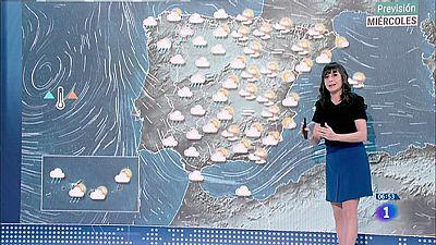 Hoy, temperaturas en descenso en tercio occidental y área mediterránea