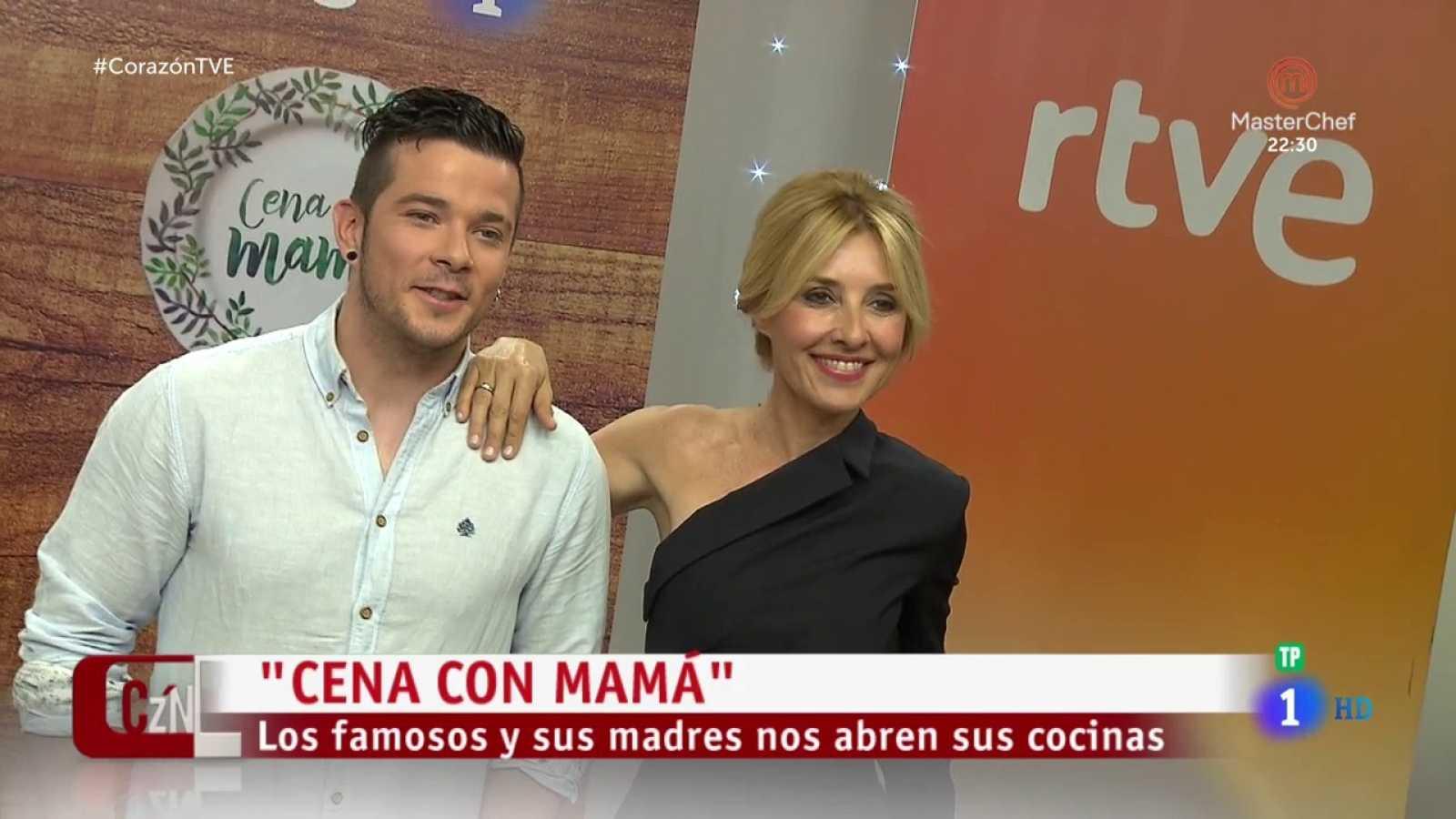 Corazón Cayetana Guillén Cuervo Estrena Cena Con Mamá