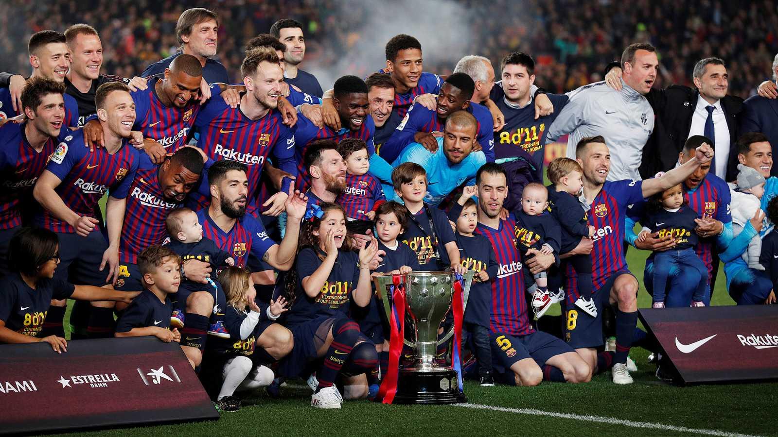 Resultado de imagen de fc barcelona liga