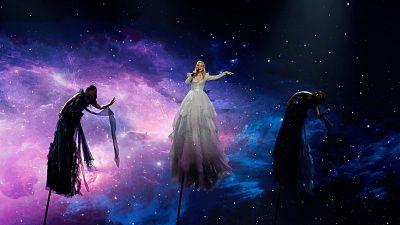 "Eurovisión 2019 - Australia: Kate Miller-Heidke canta ""Zero Gravity"" en la final"