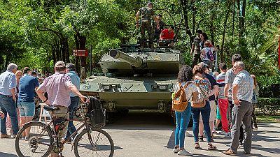 Sevilla acoge este sábado el Día de las Fuerzas Armadas