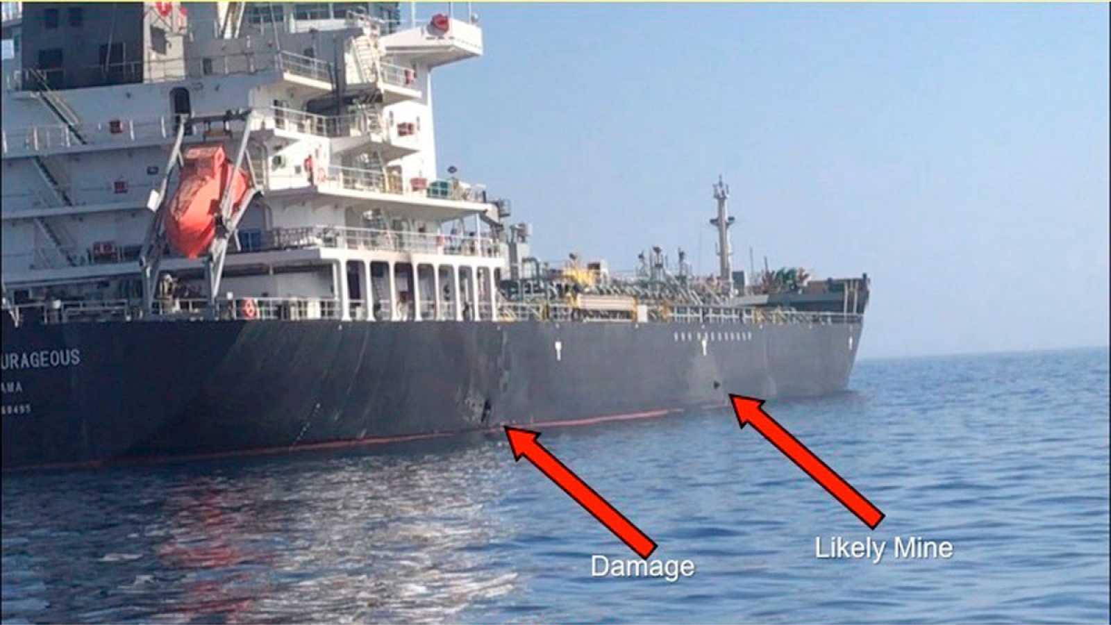 Trump insiste en culpar a Irán por el ataque a los buques en el golfo de Omán