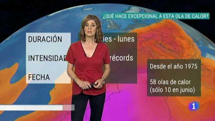 El Tiempo en Extremadura - 26/06/19