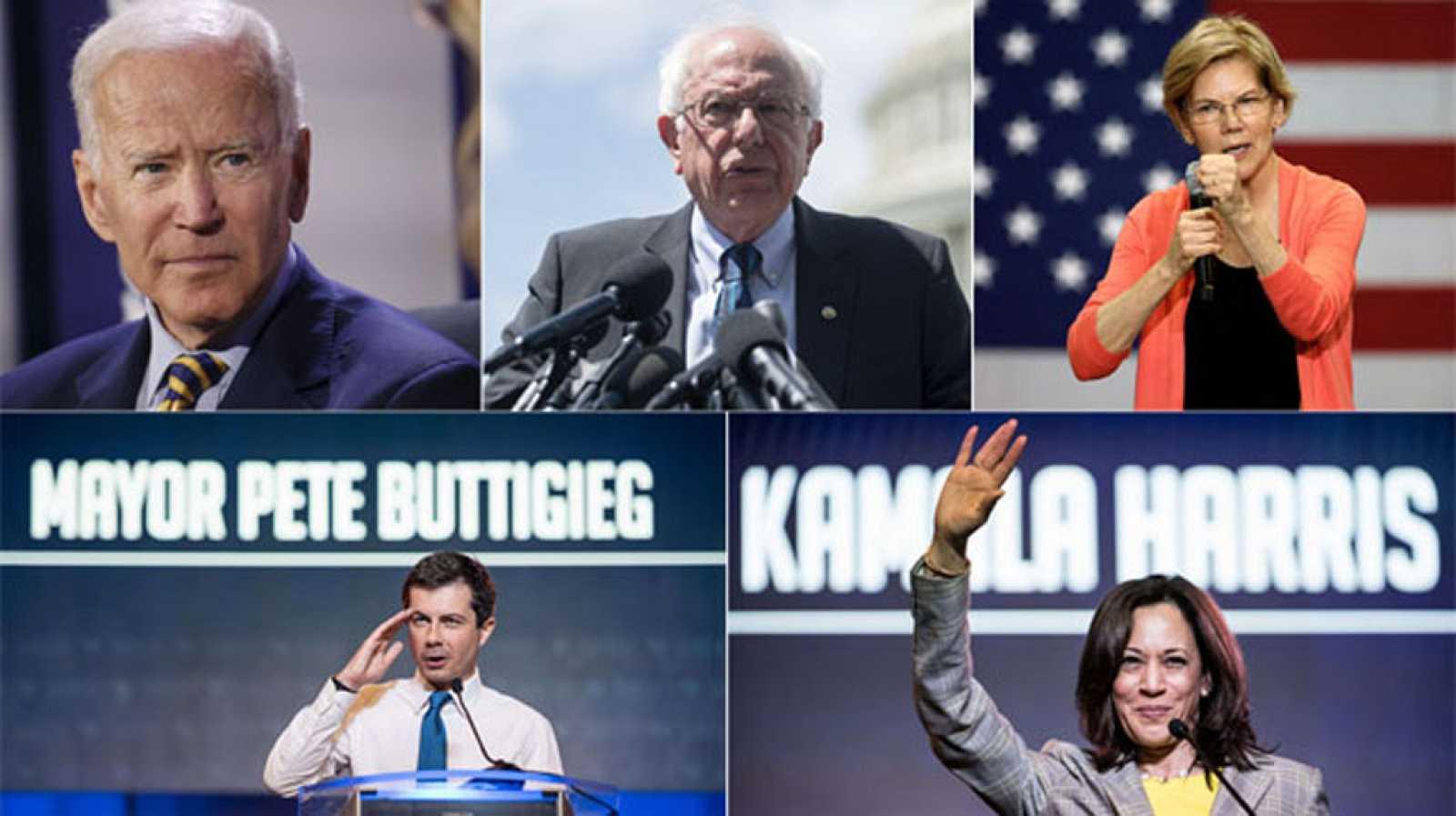 Resultado de imagen para debate del Partido Demócrata: 10 precandidatos