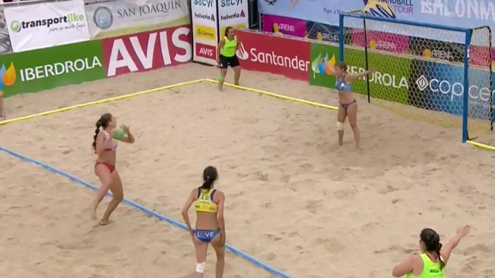 Balonmano Playa - Arena Handball Tour Final Femenina - ver ahora