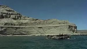 Harenes en la costa