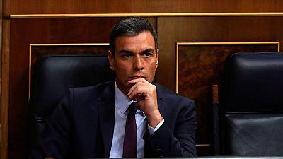 """Sánchez llama a """"todas"""" las fuerzas políticas a la responsabilidad para evitar elecciones"""