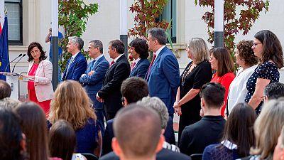 El Gobierno de La Rioja toma posesión en medio de un nuevo cisma en Podemos