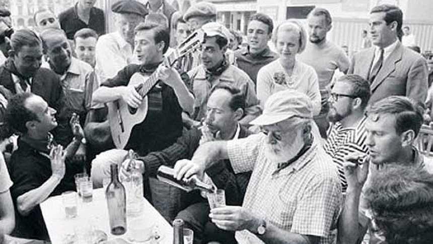 La huella de Hemingway en los Sanfermines
