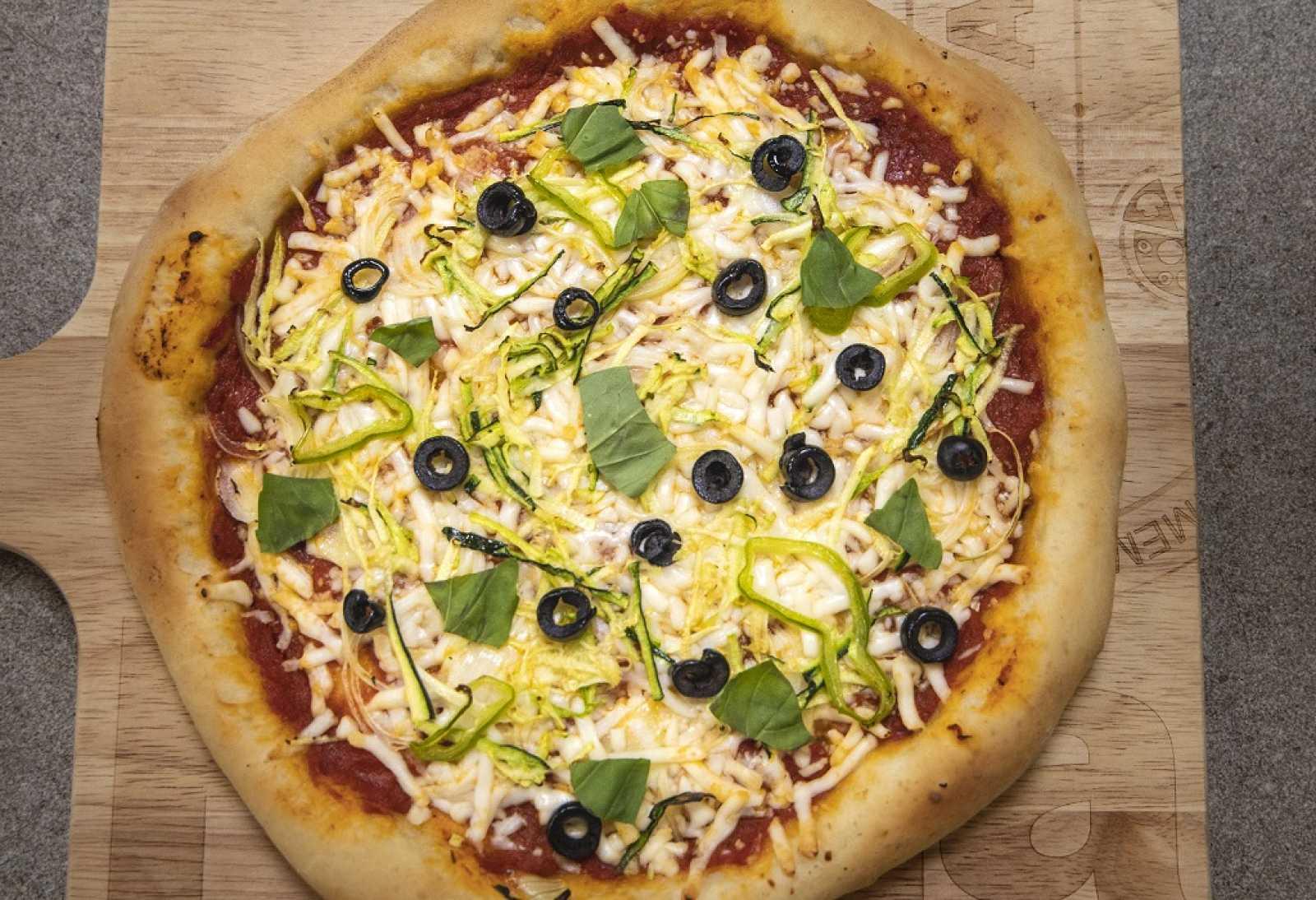 Receta De Pizza Vegetal De Dani García