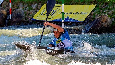 David Llorente, subcampeón del mundo en K1
