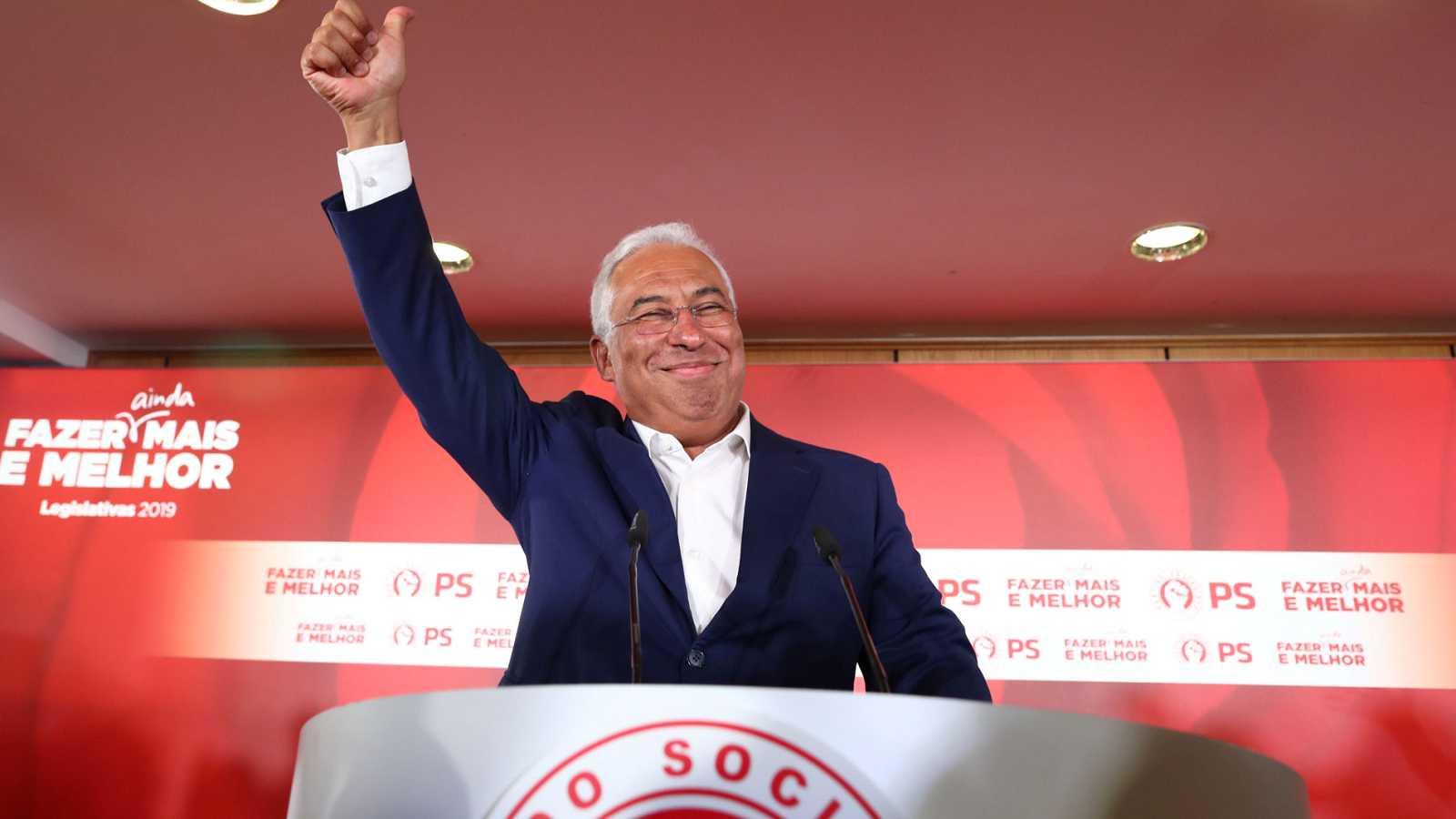 Resultado de imagen de António Costa necesitará reeditar el pacto de izquierdas para gobernar en Portugal