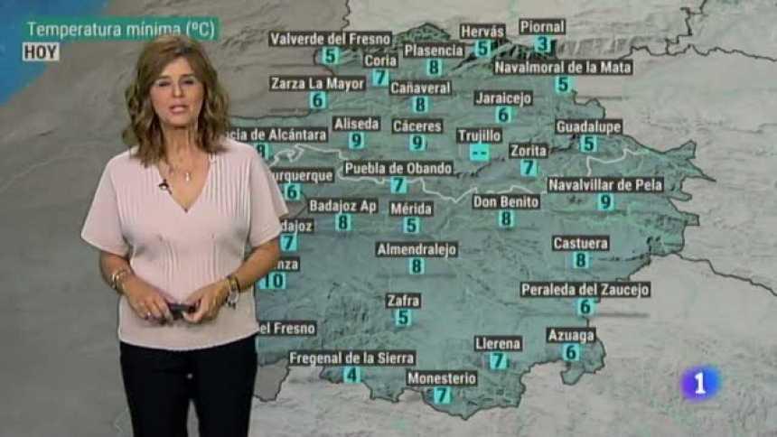 El tiempo en Extremadura - 15/10/19