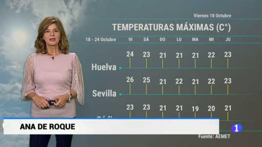 El tiempo en Andalucía - 18/10/2019