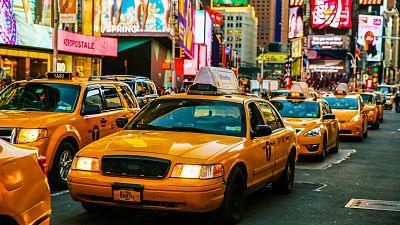 El mítico taxi amarillo de Nueva York, en crisis