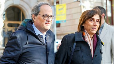 Críticas generalizadas de los partidos nacionales a Torra tras su vista ante el juez