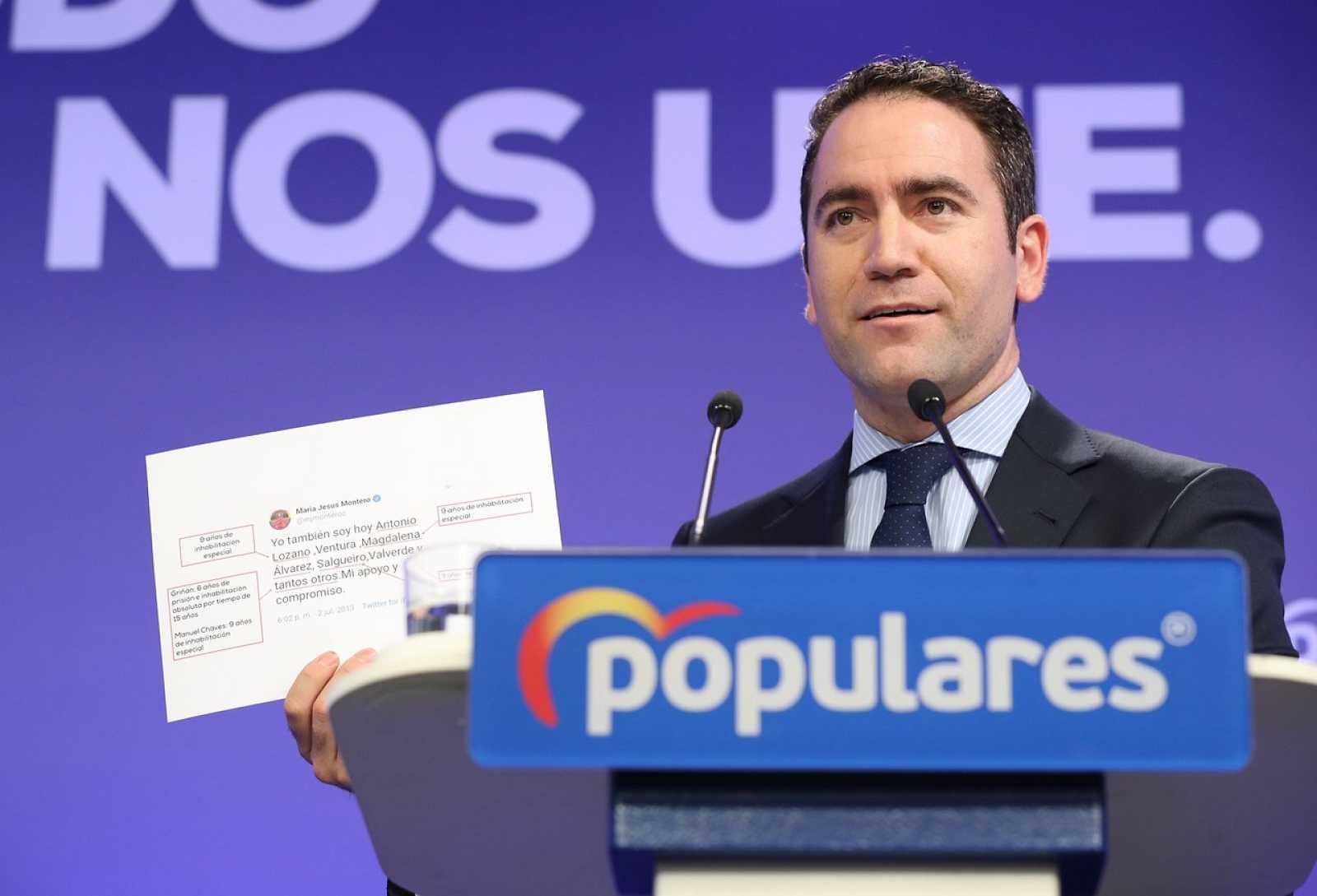 Resultado de imagen de PP y Cs exigen responsabilidades a Sánchez tras la sentencia y el PSOE desvincula a la actual dirección