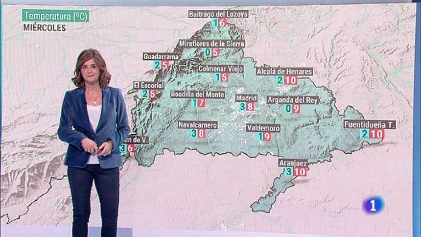 El Tiempo en la Comunidad de Madrid - 19/11/19