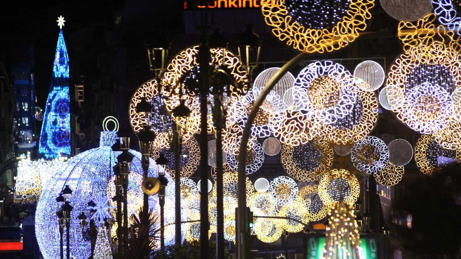 Resultado de imagen de Navidad en la noche