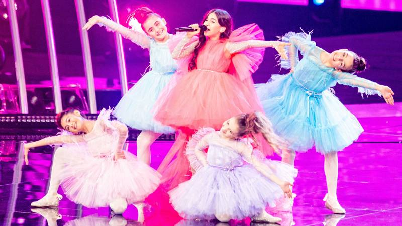 "Eurovisión Junior 2019 - Karina Ignatyan canta por Armenia ""Colours of your dream"""