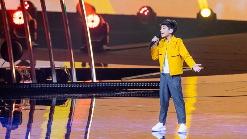 "Eurovisión Junior 2019 - Giorgi Rostiashvili canta ""We need love"" por Georgia"