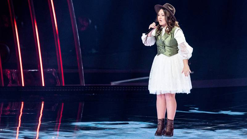 "Eurovisión Junior 2019 - Eliana Gómez Blanco de Malta canta ""We are more"""