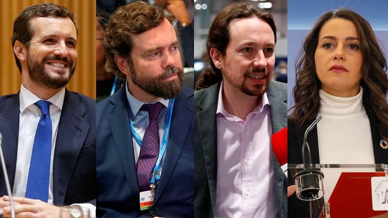 PP, Podemos y Ciudadanos abogan por tomar medidas contra un cambio climático que Vox niega