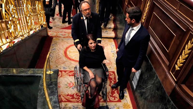 La XIV legislatura arranca con una sesión tranquila
