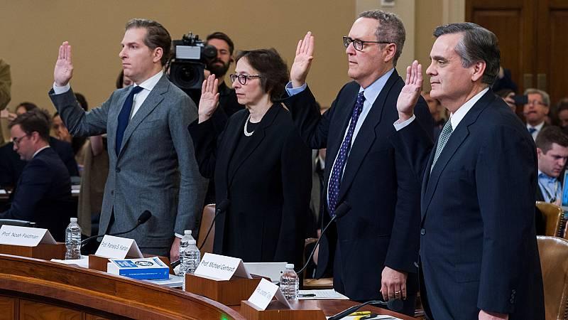 Los demócratas formalizan las acusaciones del 'impeachment' contra Trump