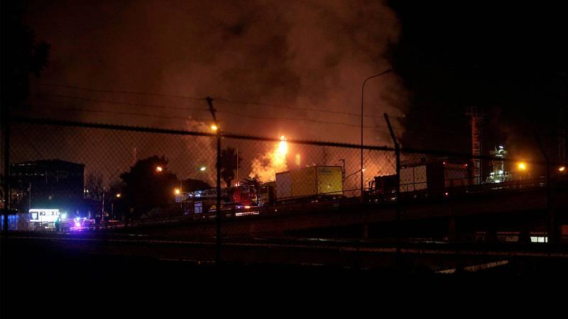 Torra informa de que la explosión de la petroquímica en Tarragona no ha causado nube tóxica