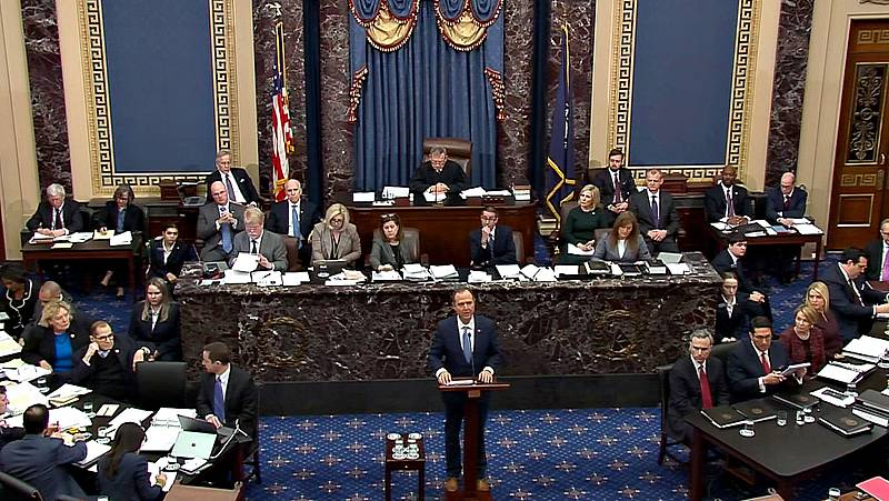 El Senado inicia el 'impeachment' contra Donald Trump