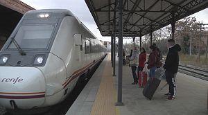 Teruel: sin conexión directa en tren
