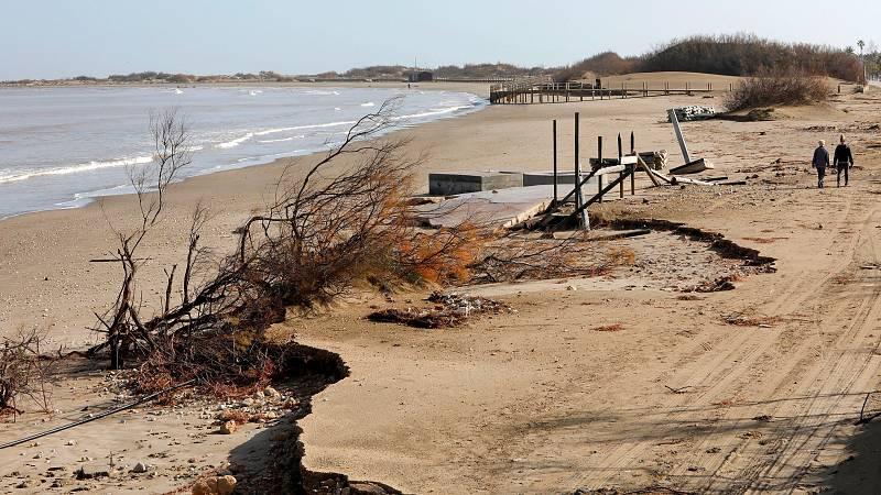 La borrasca Gloria ha causado daños materiales pero también ha golpeado con dureza los ecosistemas costeros.. Muchos pueden tardar hasta una década en recuperarse. Por eso, dicen los expertos, es urgente actuar y además es el momento de pensar en los