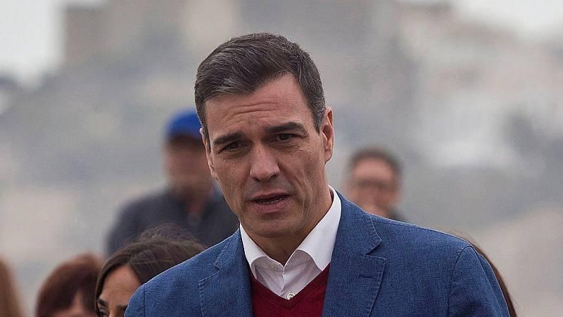 """Sánchez tras visitar las zonas afectadas por 'Gloria': """"Vamos a agilizar al máximo la tramitación de todas las ayudas"""""""