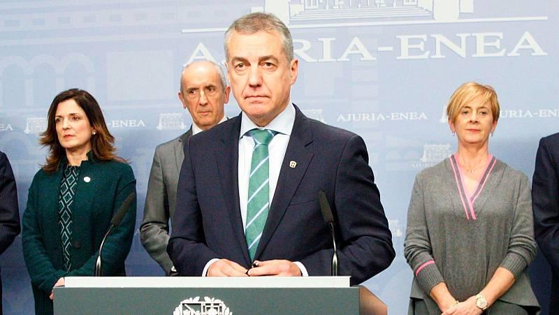 Urkullu adelanta las elecciones en el País Vasco al 5 de abril