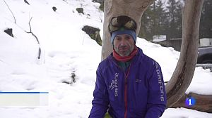 La última aventura de Ferrán Latorre, alpinista y cámara de 'Al filo'