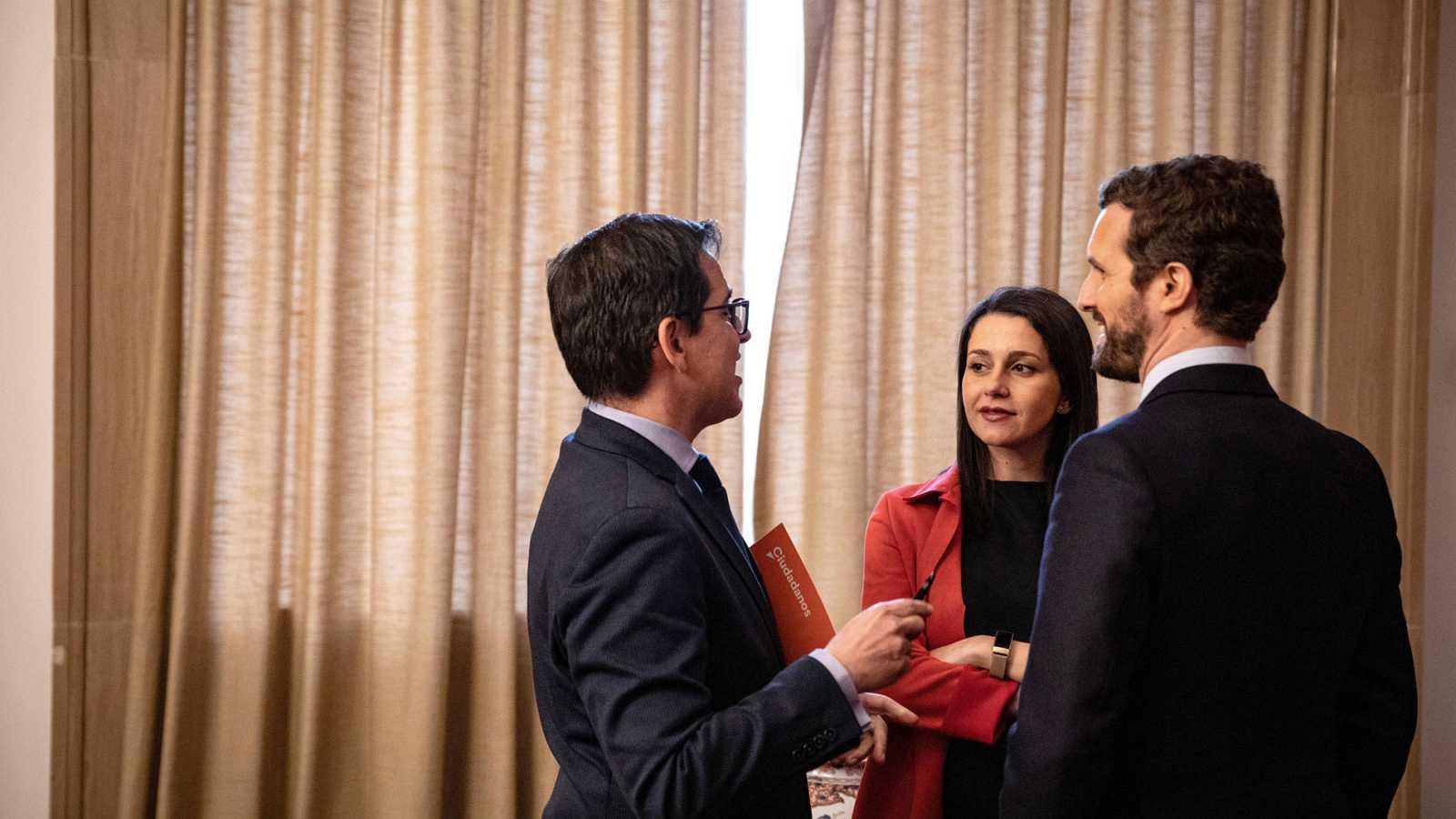 Los populares siguen rechazando una coalición con Cs para las elecciones gallegas