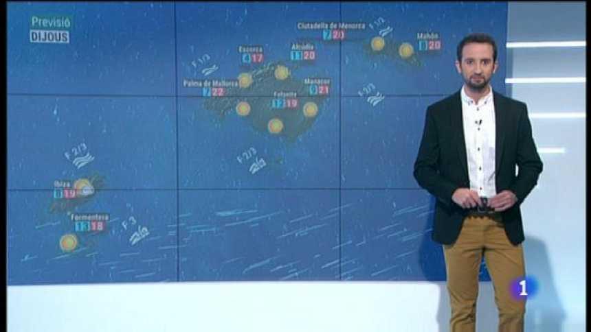 El temps a les Illes Balears - 08/04/20