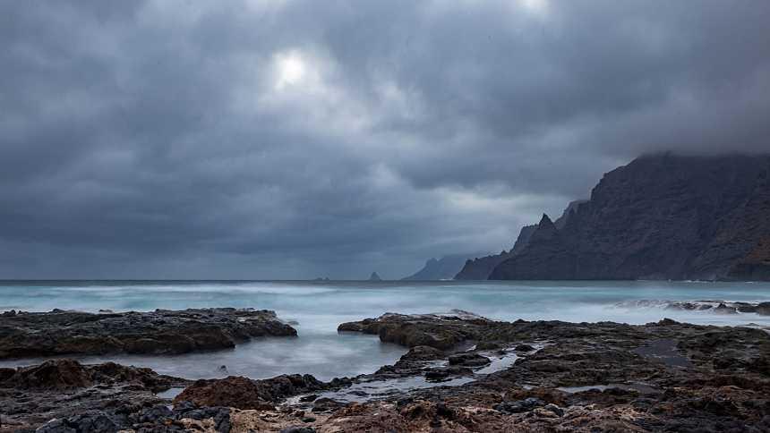 Precipitaciones que podrían ser localmente fuertes en Canarias occidentales