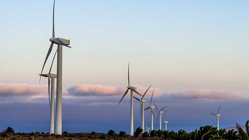 Viento fuerte en Canarias y extremo noreste de Cataluña